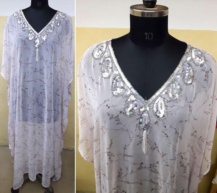 Boho Maxi Caftan Kaftan Dress dashiki Hippy African Women Beach shirt gypsy gown