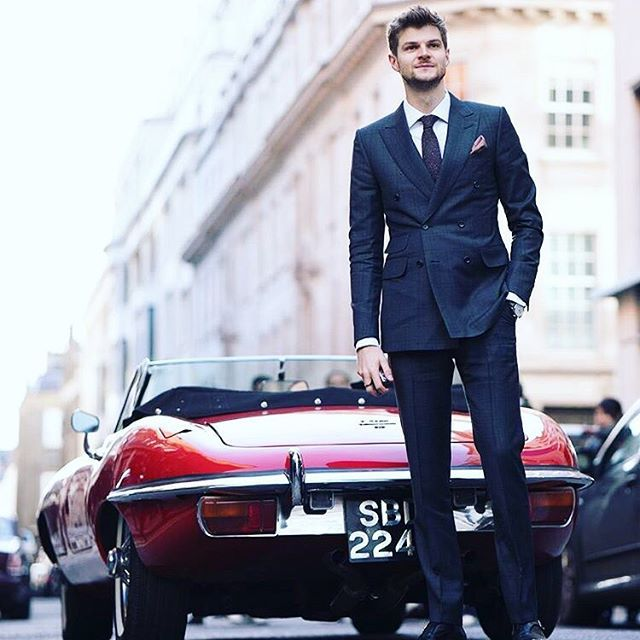 It's been a pleasure taking over the @alfreddunhill Instagram (If you missed it, go check it out!) It was a really great presentation and they made my wedding suit so they have a special place in my heart. #dunhillClub (Also, thanks for lending me to the Jag for the day)  @webstylestory