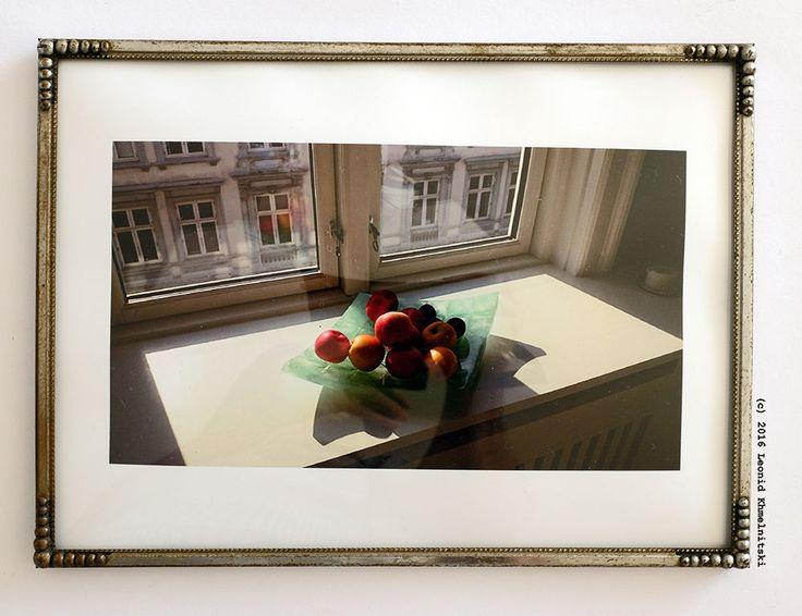 My photo 'Apples in Copenhagen' in Danish vintage metal frame
