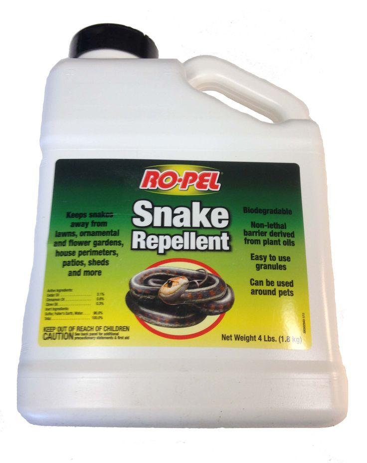 Ro-pel Snake Repellent. Pet Safe!