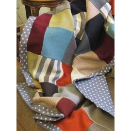 Handmade Patchwork Throw