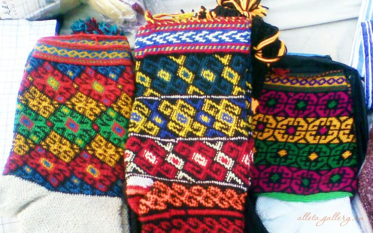 Gallery.ru / Фото #43 - Узоры для вязания Памирских джурабов и вышивки - Alleta