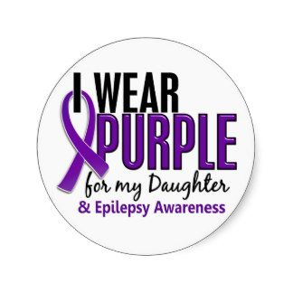 Living With Epilepsy- one mom's story of living with a daughter who has epilepsy for Epilepsy Awareness Day March 26th- wear purple!