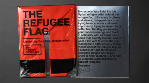What to do when the status of a refugee is forced on you and you have no where to go? For the people no one wanted, the feared unfamiliar crowds with the muffled voices, we created a nation to stand for them, and first on the agenda of the inception of a nation is its statehood symbols. Thus a flag and an anthem came to being, advocating ever since for the inclusion of every refugee in the world, starting with the Refugee Olympic Team. #HelpwithOvercomingFear