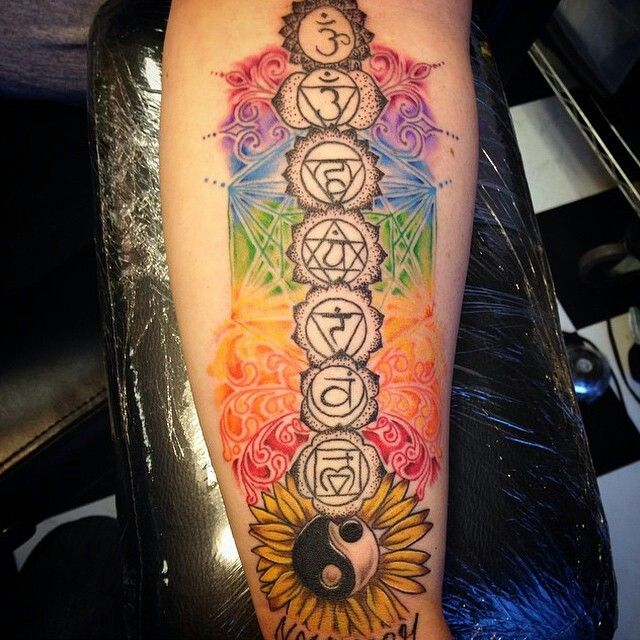 Instead of the ying yang though, I'd get the tree of life.
