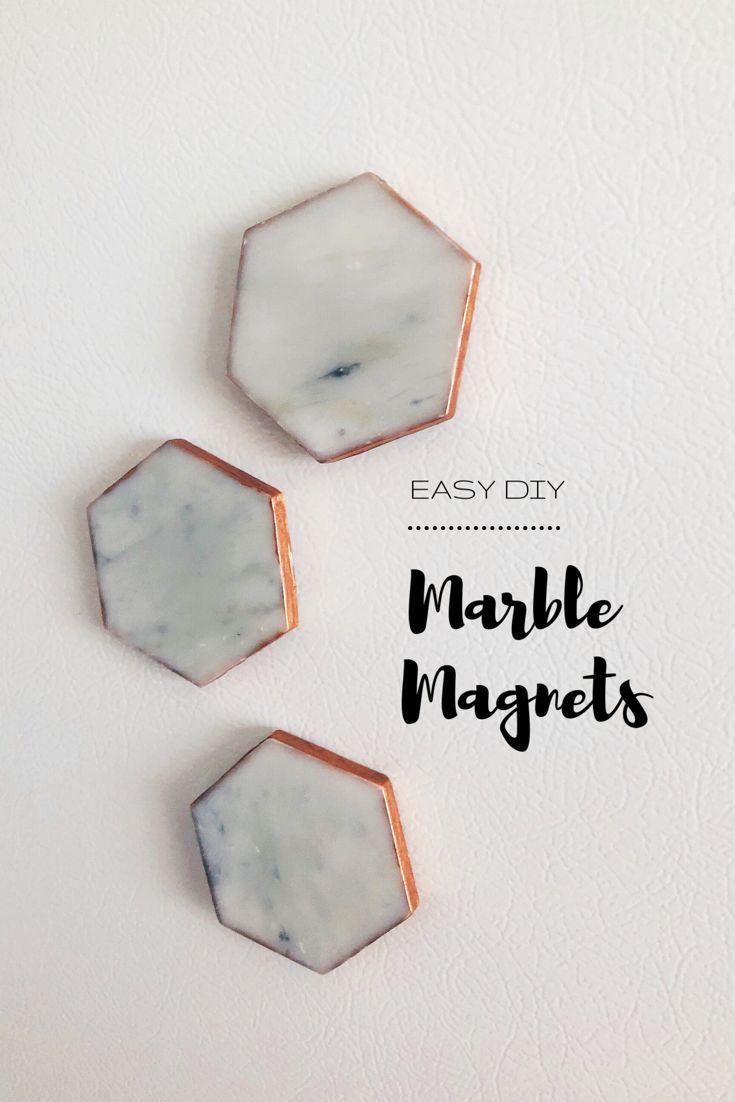 DIY Marble Magnets – #DIY #magnet #Magnets #Marble