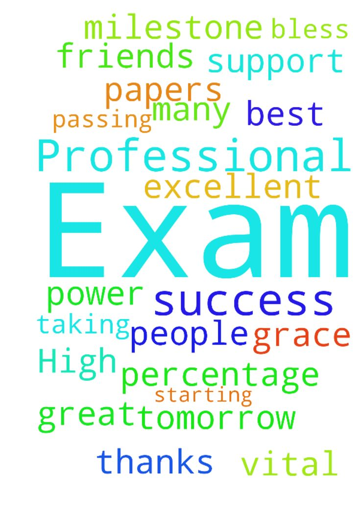Prayer for Success in an High  Professional Exam -  Dear People in The Lord Please pray for Me as I am taking Professional Exams starting from tomorrow .I have 7 papers .Need great support of prayers from you all and excellent success by passing with best percentage .This is a Vital Milestone ...In Jesus Name .Amen .God bless by His Grace and Power . Many thanks to you friends for prayers  Posted at: https://prayerrequest.com/t/HaM #pray #prayer #request #prayerrequest