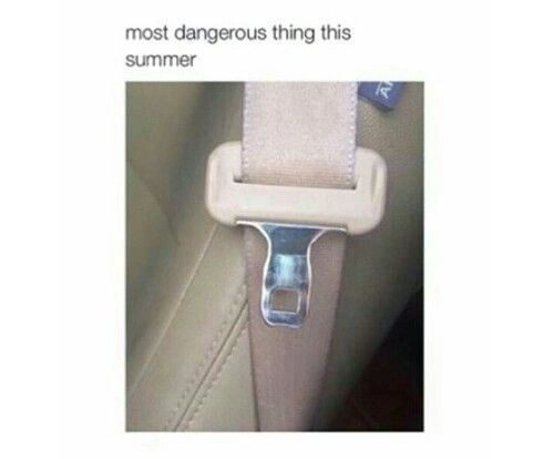 Its hot af! In August, it's 110 degrees in your car and you grab that thing! Third degree burns right there!