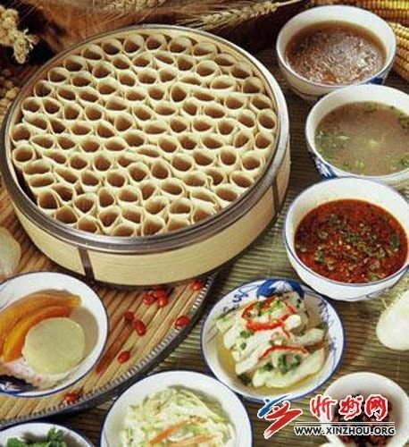 Youmiankaolaolao,one of the traditional shanxi pasta,we use a variety of sauces to match it,if you come to shanxi,never forget it