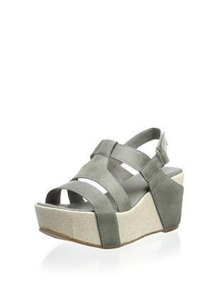 60% OFF Antelope Women's Wedge Sandal (Grey)