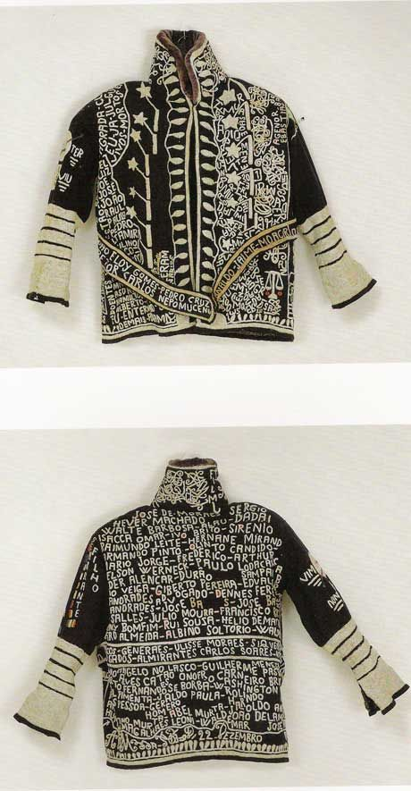 ♒ Enchanting Embroidery ♒ Bispo do Rosario embroidered jacket