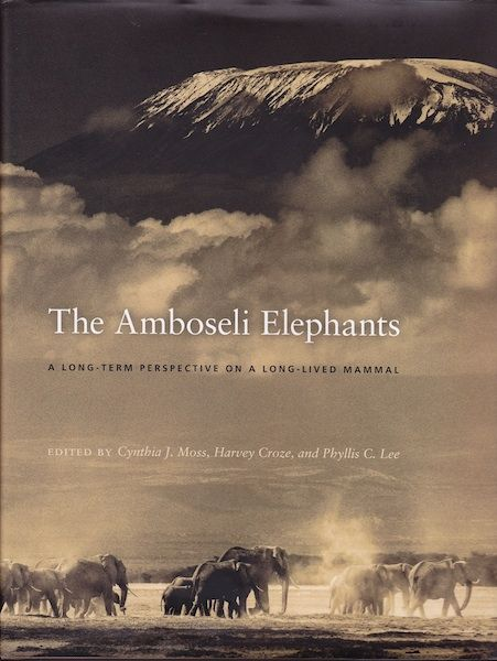 This important book is a compilation of the almost 40 years of #elephant research conducted in Amboseli National Park, Kenya. It's a very accessible volume with chapters addressing ecological change, genetic drift, sociality and behavior. A very unique collection of essays written by the top elephant experts in the world. University of Chicago Press - 2011, ISBN: 978-0-226-54223