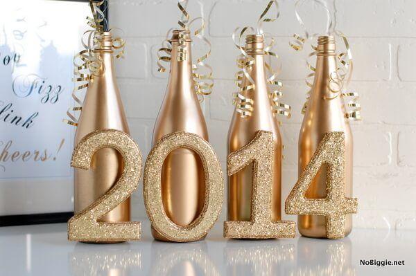 Decor: Decoração para a festa de Ano novo!
