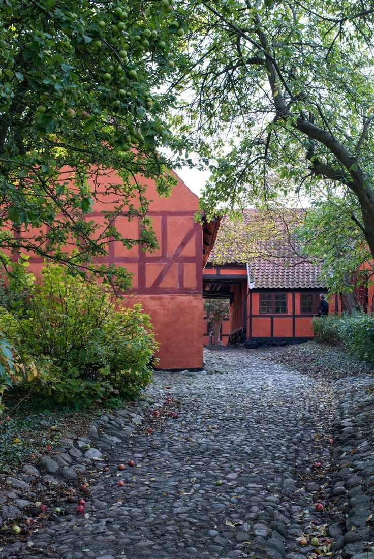 SUMMER 3: Old danish houses