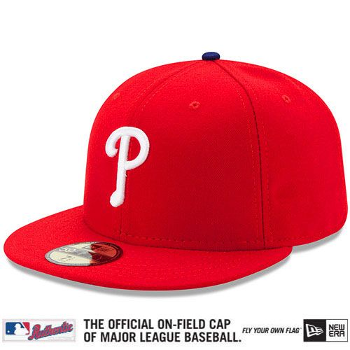 Philadelphia Phillies Authentic Collection On-Field 59FIFTY Game Cap -  MLB.com Shop  9dc36a1354f
