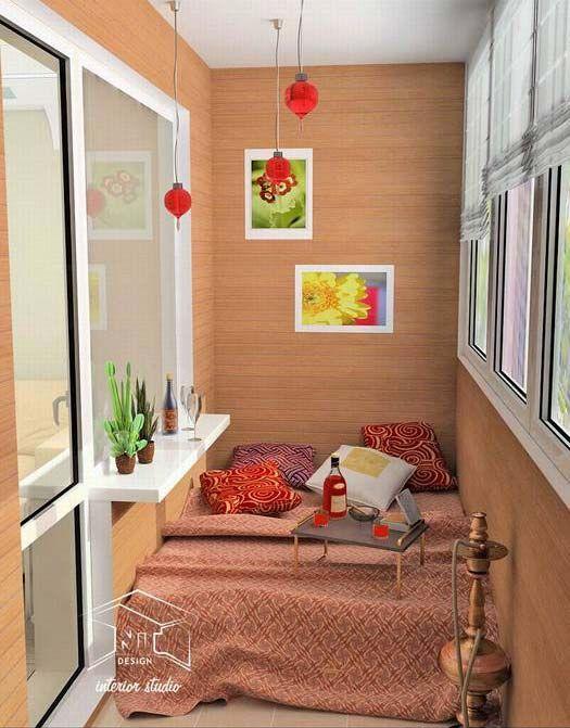 Beautiful and cozy balcony. Ideas for balcony registration. - застекленные балконы фото