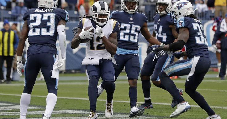 cool Gurley helps Rams clinch NFC West in 27-23 win over Titans