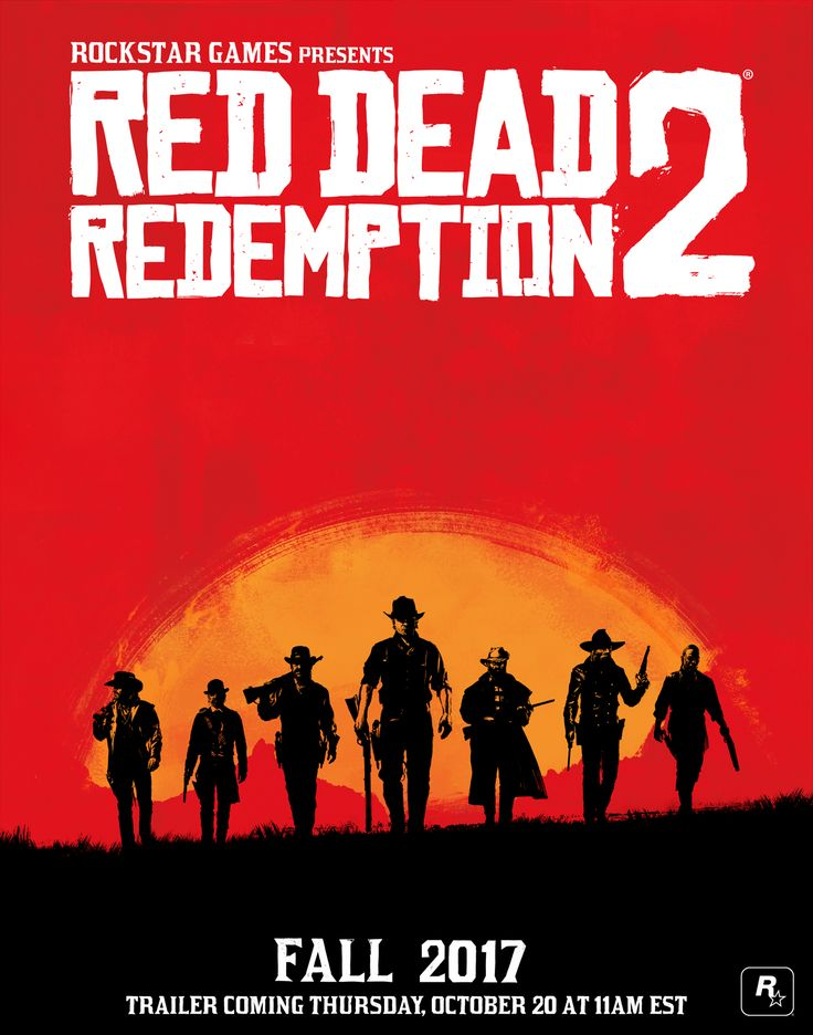 Red Dead Redemption 2 Coming Fall 2017 - Watch the Trailer this Thursday, October 20th at 11AM ET - Rockstar Games