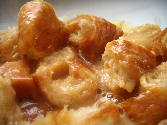 Caramel Croissant Bread Pudding | Pies , Pudding and Cobblers | Pinte ...