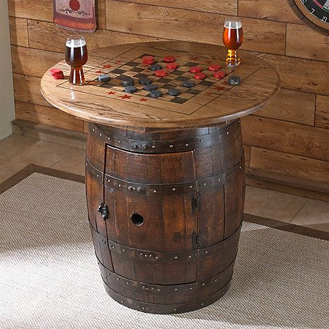 Whiskey Barrel Game Table Whiskey Barrels Game Tables
