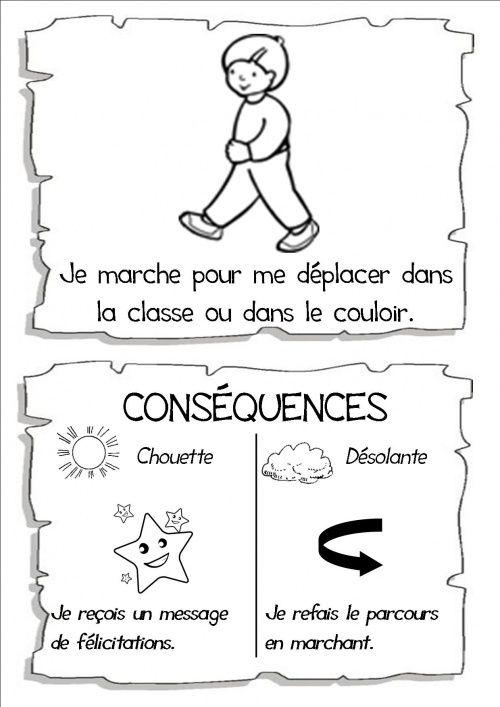 Les règles de la vie de la classe - Vivi de class'