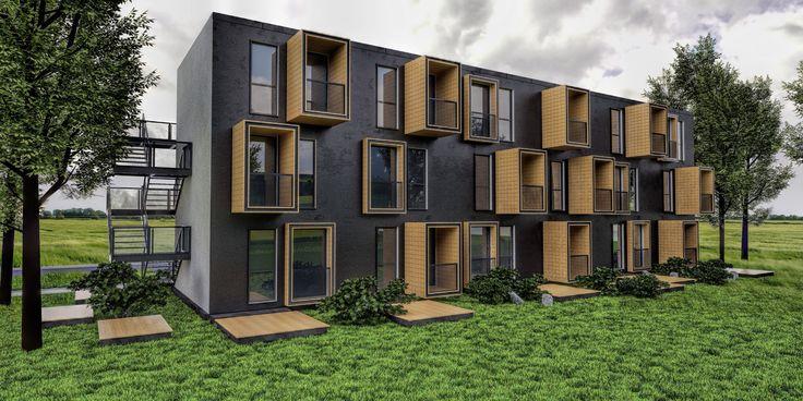 Moduliniai pastatai Švedijoje