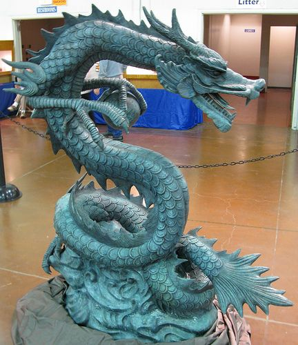 Chinese Dragon - Photo by Wood's Stoneworks and Photo Factory