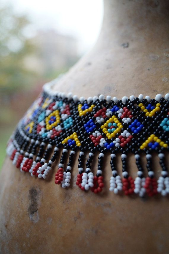 Carpathian necklace by ArtFromKryg on Etsy