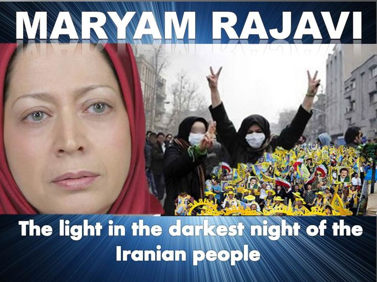 Maryam Rajavi is  the charismatic leader of the National Council of Resistance of Iran (NCRI) and the nightmare of the Iranian Mullahs.  She  wants to replace the oppressive regime of the Mullahs with a secular democracy.In her program for the future Iran, there will be no capital punishment, no segregation and no nuclear ambitions.