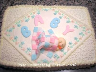 Baby Shower Cakes You Can Make At Home ~ Azftfsummit com ideas babyirl shower cake homemade for