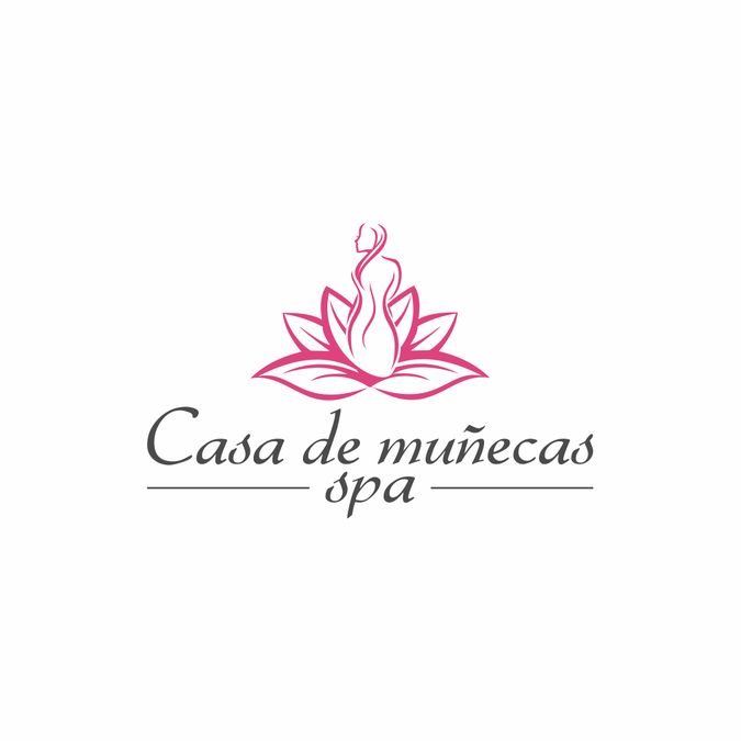 Create a chic and elegant logo for Casa de Mu帽ecas Spa.  The place of live dollls. by jawara imogiri