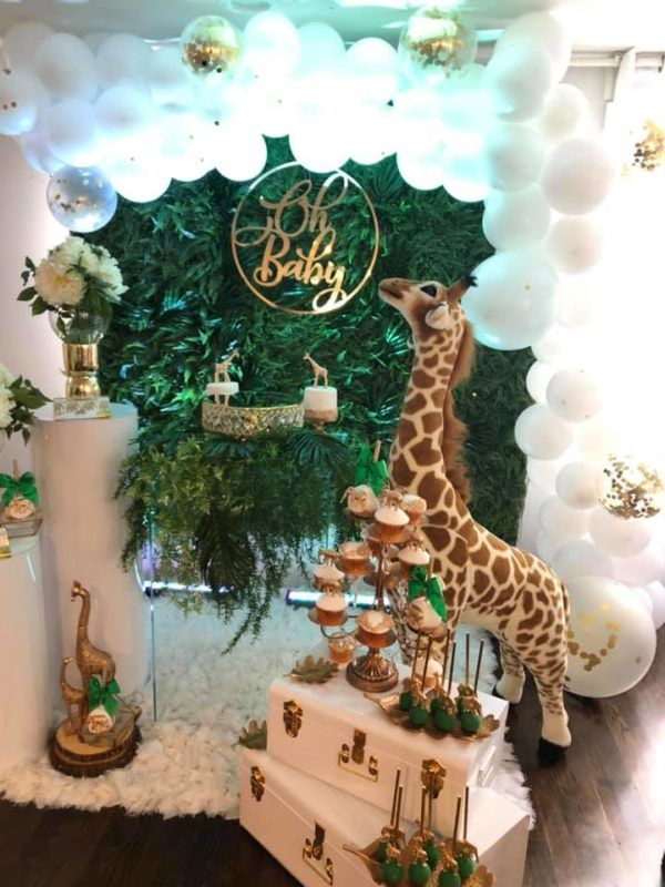 1 Photos Archives Baby Shower Ideas Themes Games Baby Shower Giraffe Baby Shower Safari Theme Baby Shower Backdrop