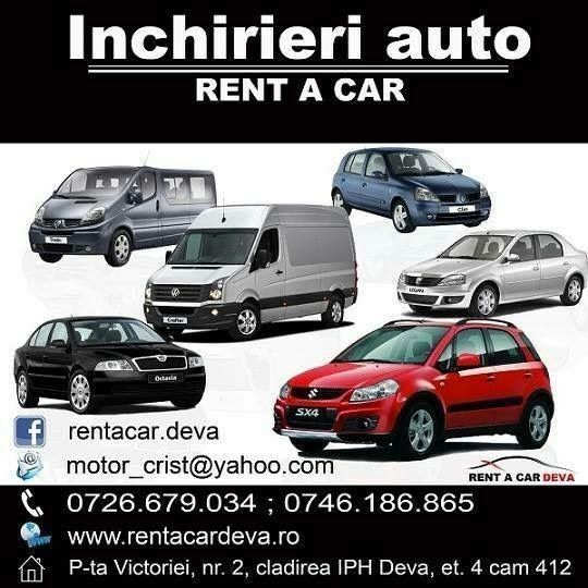 RENT A CAR DEVA - Inchirieri autoturisme si autoutilitare www.rentacardeva.ro