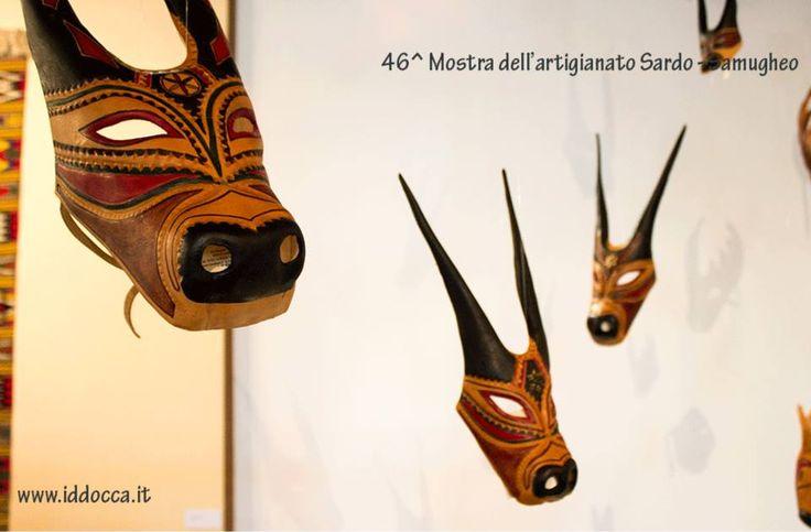Maschere di carnevale tradizionali.  Carnival traditional masks.