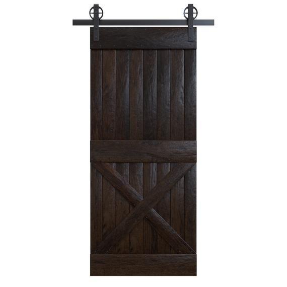 Diy Half X Spokane Sliding Barn Door Kit Rustic Sliding Doors Barn Door With Or W O Hardware Built To Order Barn Door Kits Door Kits Barn Door Designs Barn Door Handles