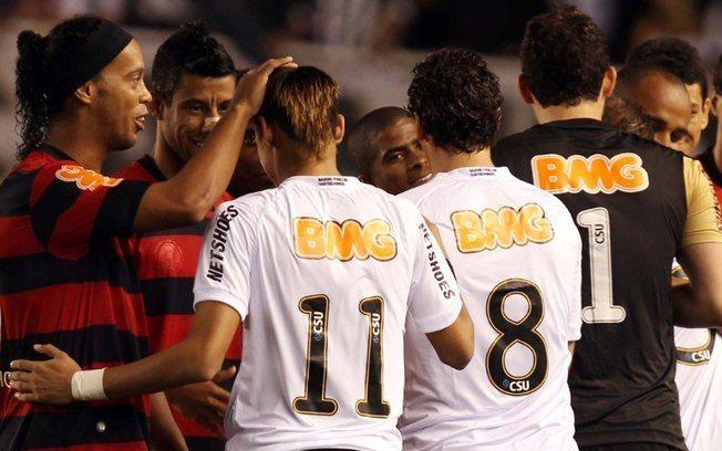 Melhores jogos do mundo: Santos 4 x 5 Flamengo, Brasileirão de 2011