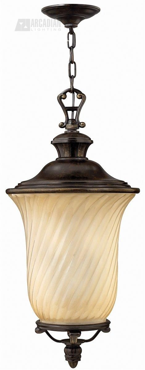 Hinkley Lighting 1252RB San Mateo Traditional Outdoor Hanging Light HK-1252-RB