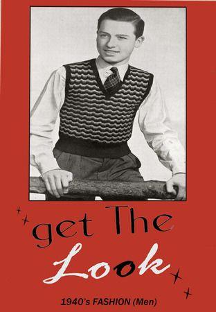 1940s Mens Fashion Casual