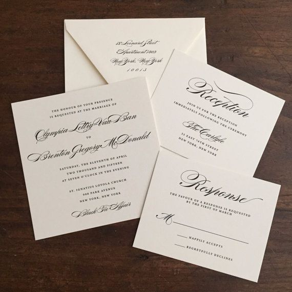 8 best I DO Collection images on Pinterest Wedding invitation - how to write a invitation letter for dinner