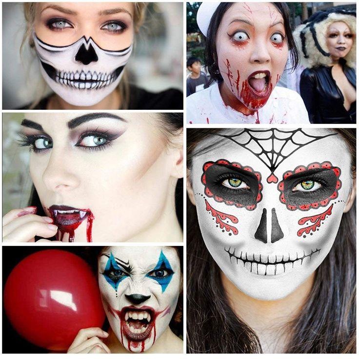 Unomor Halloween Makeup Face Painting
