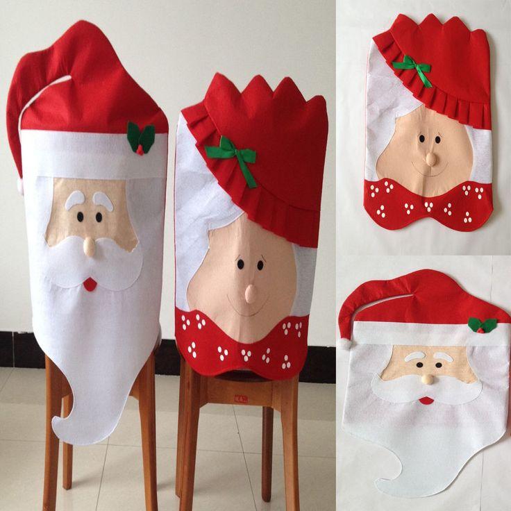 Weihnachten Küche Dekor Stuhlüberzug  Weihnachten Stühle Abdeckung