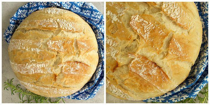Rychlý a jednoduchý recept na chléb Artisan