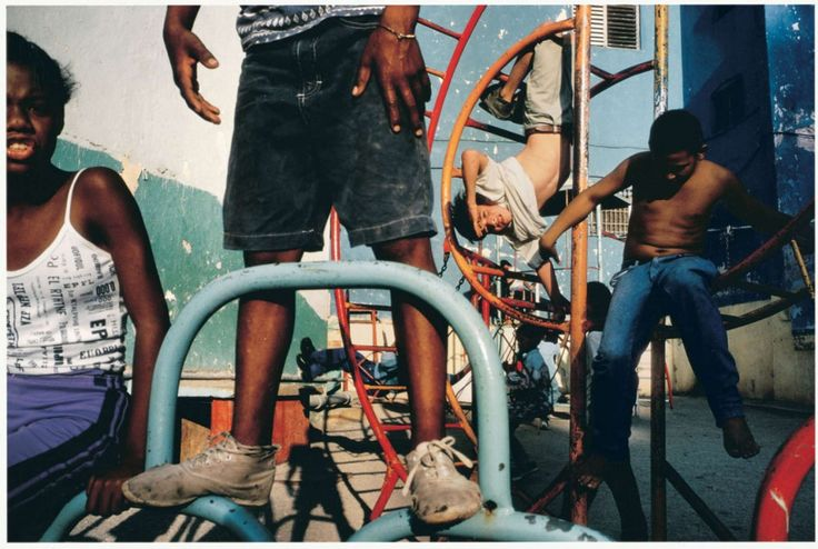 La fotografía documental de Alex Webb