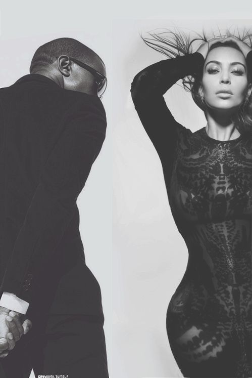 Kimye! IDGAF what ppl say about Kimye I love them!!! they're my favorite celeb couple!!!