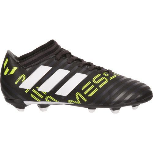 Adidas Boys' Nemeziz Messi 17.3 Soccer Shoes (Black/Medium Green, Size 3.5) - Youth Soccer Shoes at Academy Sports