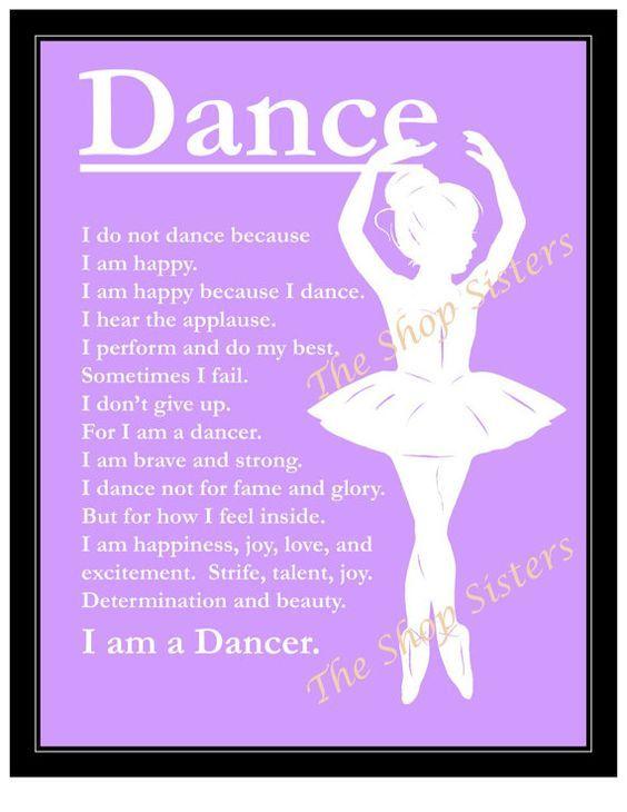 12 besten Dance Quotes Bilder auf Pinterest