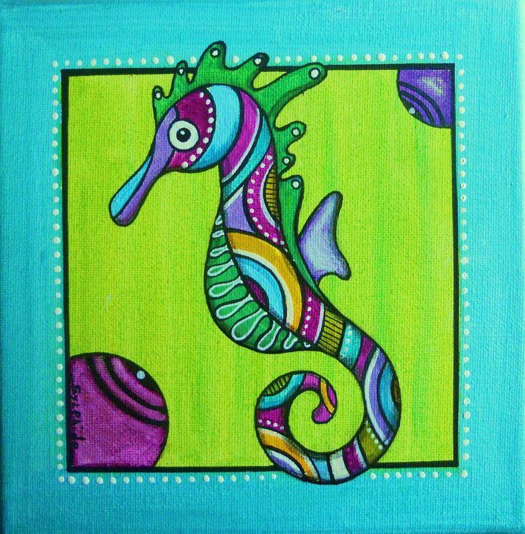 Tableau de Zypo'ténuz l'hippocampe