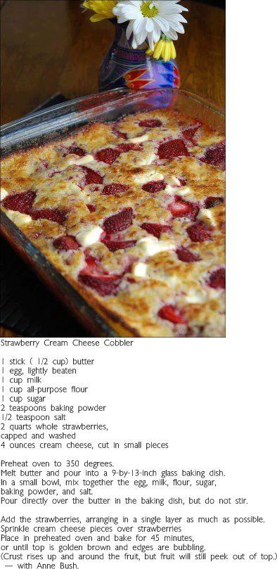 Strawberry Cream Cheese Recipe
