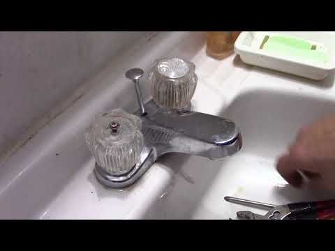 Sink Faucet Repair Delta Bathroom Sink Drips Youtube Delta