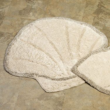 Bath Rugs Scallops And Shells On Pinterest